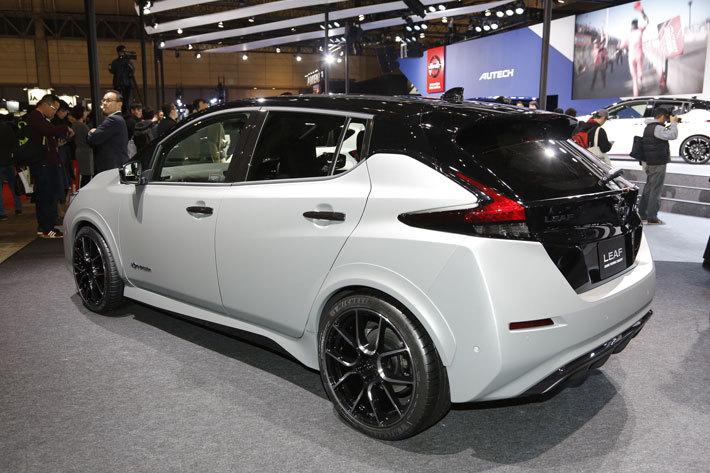 日産 新型リーフ「LEAF Grand Touring Concept」(参考出品車)【東京オートサロン2018】