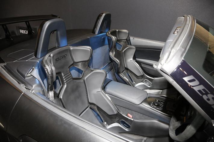 レカロの新型シート「PRO RACER RMS」
