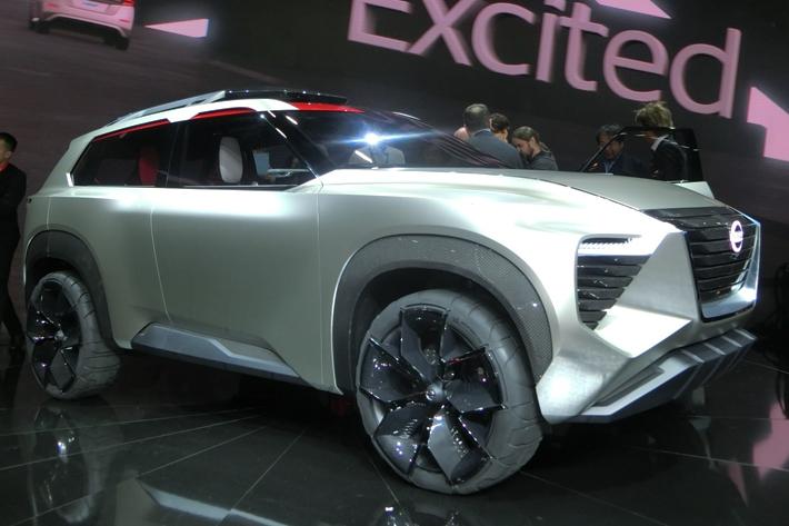 日産 Xmotion(クロスモーション) デトロイトショー2018