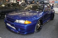 900馬力のフルカーボンスカイラインGT-R(R32)に海外ファンも大興奮!【東京オートサロン2018】