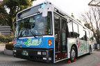 日産、リーフの技術をバスに活用…熊本でEVバスの実験走行開始へ