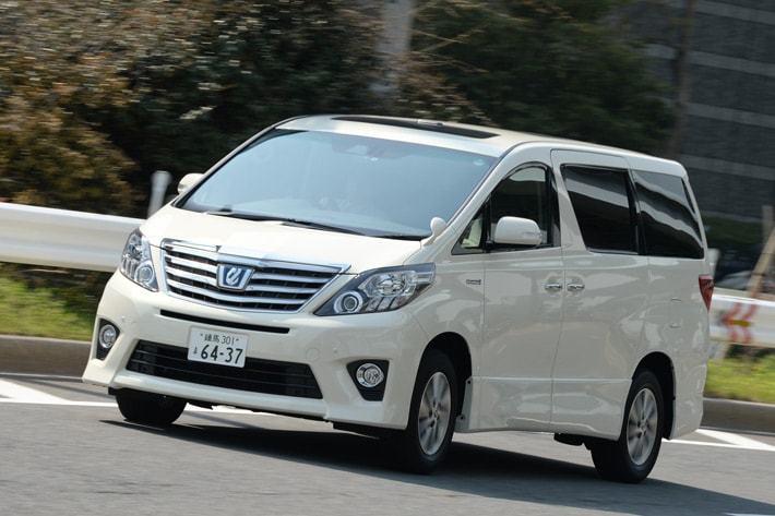 トヨタ アルファード(ハイブリッド・2014年モデル)