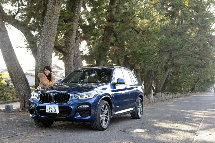 "BMW 新型X3で往く駿河路""ゆる旅""ドライブ"