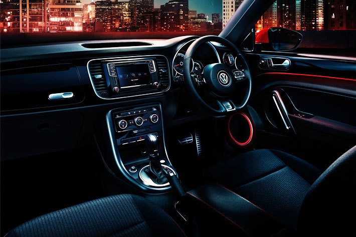 VW ザ・ビートル特別仕様車「The Beetle SOUND」