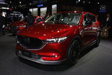ローダウンした新型CX-5がかっこよすぎる!マツダスピード風のカスタムモデルを展示【東京オートサロン2018】
