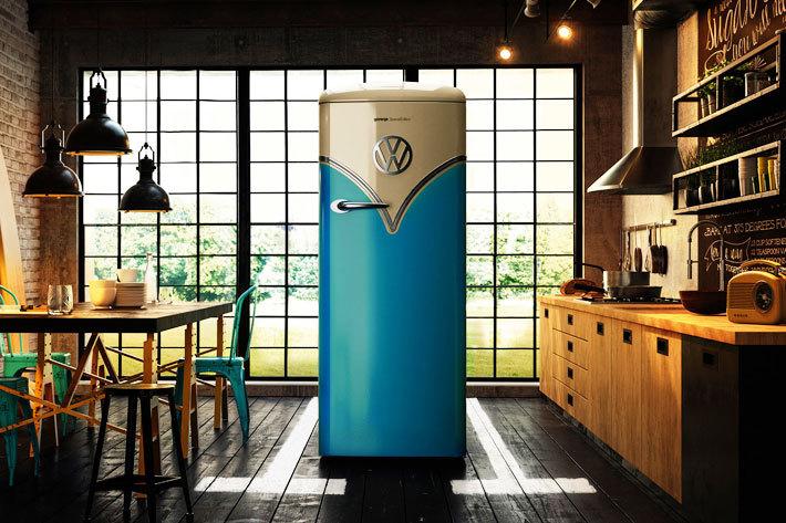 ワーゲンバス冷蔵庫