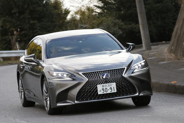 """レクサス 新型LS500h """"EXECUTIVE""""[FR・V6 3.5リッター マルチステージハイブリッドシステム]"""
