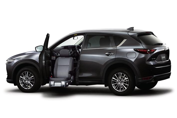 マツダ CX-5 助手席リフトアップシート車/2018年3月商品改良モデル