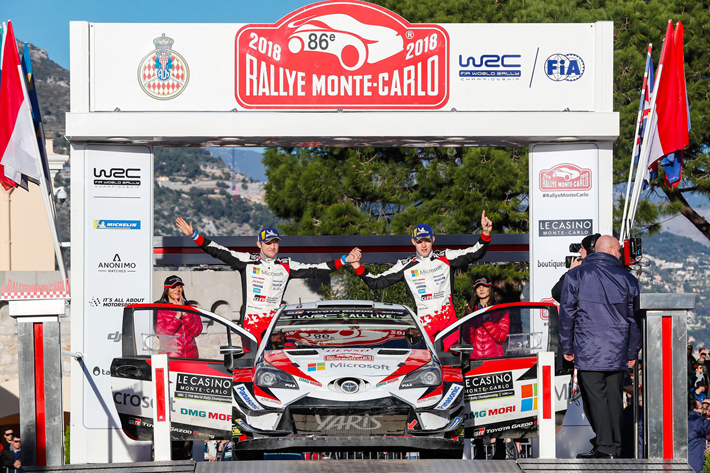 2018年WRC第1戦モンテカルロ