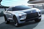 三菱、EV搭載の新型SUV「e-エボリューション コンセプト」を公開【ジュネーブショー2018】