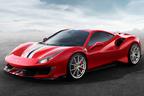 フェラーリ、最強V8ターボ搭載の新型488 Pistaを先行公開【ジュネーブショー2018】