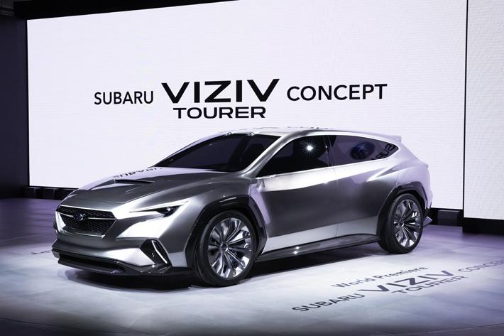 SUBARU VIZIV TOURER CONCEPT(スバル ヴィジヴ ツアラーコンセプト)