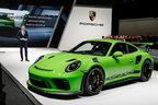 4リッターNAで520ps!ポルシェ 新型911 GT3 RSがジュネーブショー2018で初公開