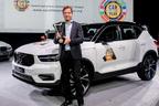 ボルボが快挙!コンパクトSUVの新型XC40が欧州カー・オブ・ザ・イヤーを初受賞