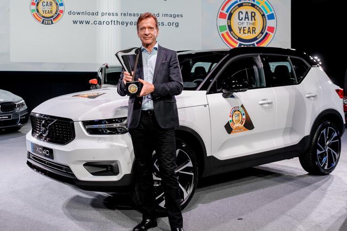 2018欧州カー・オブ・ザ・イヤーを受賞したボルボ XC40