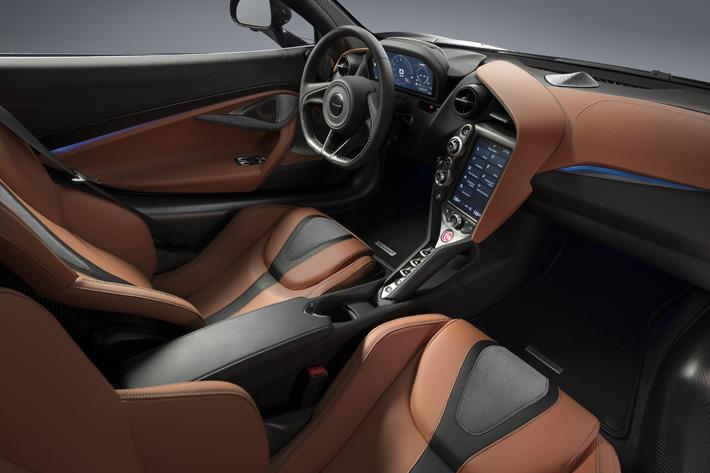 アトランティック・ブルーのボディカラーが目を引くマクラーレン 720Sの特別モデル