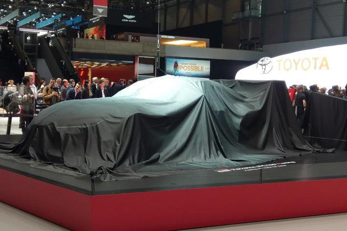 """ベールがかかったトヨタ 新型スープラ""""GR Supra Racing Concept"""""""