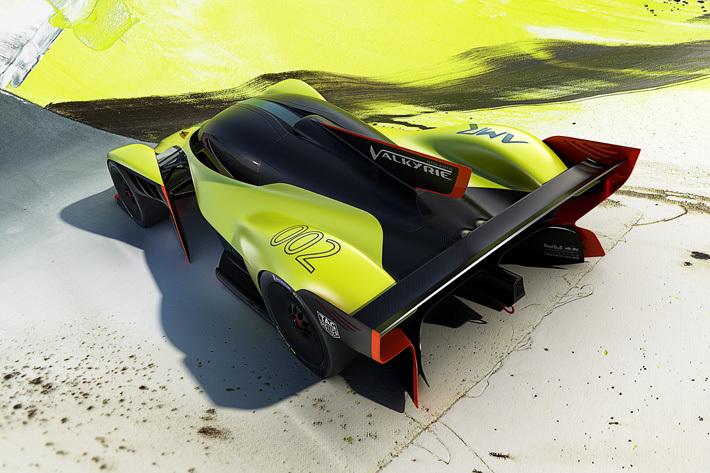 アストンマーティン 新型ヴァルキリー AMR Pro