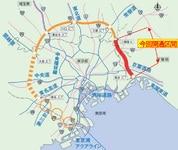 外環道の三郷南IC~高谷JCTが2018年6月2日に開通…利用料金の上限額が1020円に値上げ