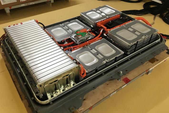 Used Li-ion battery