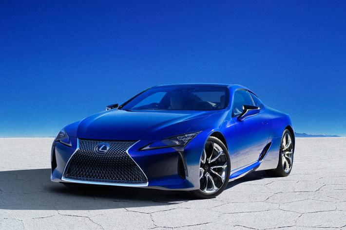 レクサス 新型LC 特別仕様車「Structural Blue(ストラクチュラルブルー)」