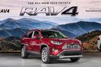 SUVらしさを強調したトヨタ 新型RAV4は2019年・春 日本導入予定【ニューヨークショー2018】