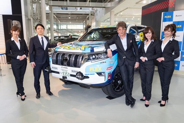 FLEX SHOW AIKAWA Racing 参戦発表会