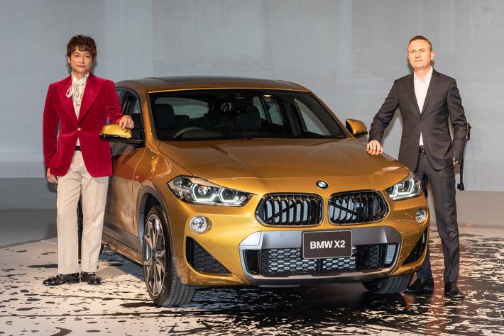 BMWのブランド・フレンドに就任した香取慎吾氏