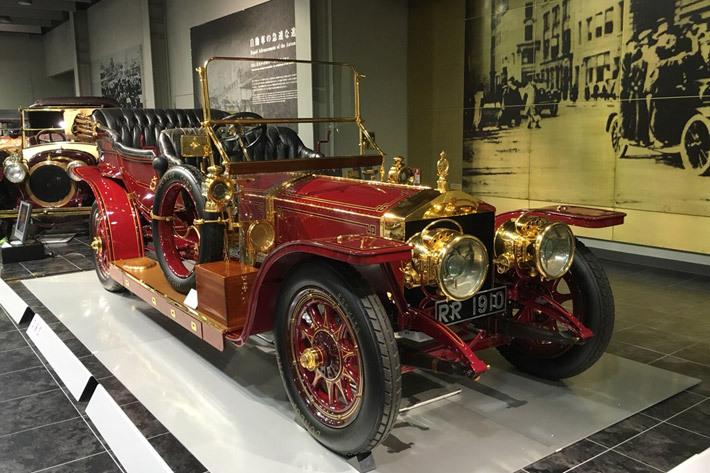 トヨタ博物館展示のクラシックカー
