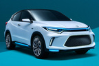 ホンダ、ヴェゼル風の新型EVコンセプトを世界初公開…インスパイアコンセプトなど出展【北京ショー2018】
