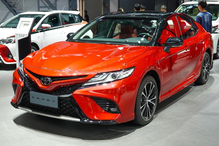 全世界で人気のトヨタ カムリ。中国でも高い人気を誇る。