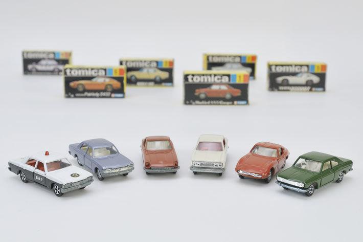 トミカがスタートした1970年に発売されたのはこの6台[TOMICA(トミカ)]