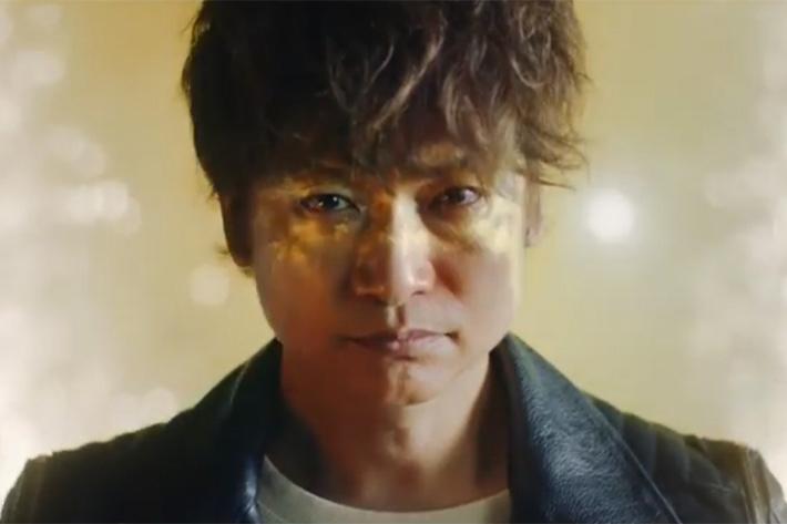 BMW X2のスペシャルムービーに出演する香取慎吾氏