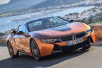 BMW i8ロードスター 海外試乗│未来のスポーツカーがもたらす娯楽
