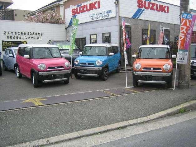 新車・のことならSUZUKI高槻南コンプリートスピードへ!高槻市バス「高槻総合スポーツセンター前」下車すぐです。ご連絡下さい。
