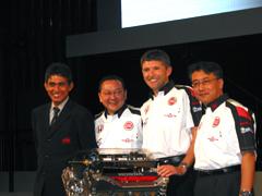 2006年Honda F1世界選手権参戦体制