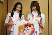 「クレインズ」の外咲未来さんと杏那美夏さん