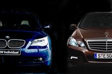BMW 5シリーズ - メルセデス・ベンツ Eクラス 比較