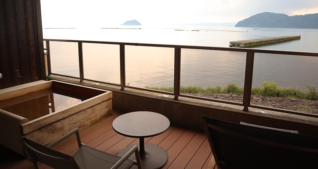 悠久の琵琶湖を望む、「何もしない」を楽しむ宿