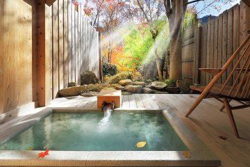 上質な山人料理と貸切の温泉で、優雅なプライベートタイムを